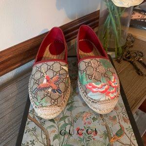 Gucci GG supreme Tian flat Espadrilles